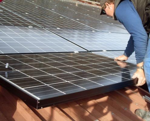 Installation Solarpanels