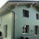Eternitfassade, Wohnhaus in Erstfeld