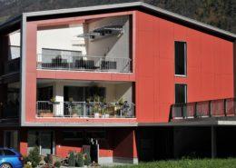 Eternitfassade, MFH Geissmatt in Silenen