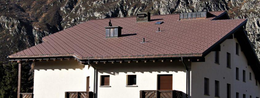 Eternit Dachschiefer, MFH Adermatt