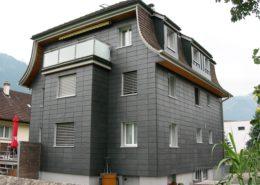 Naturschieferfassade, Wohnhaus in Altdorf