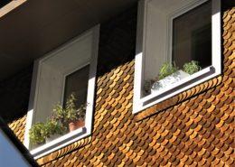 Holzschindelfassade Nova Casa, WH in Andermatt