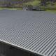 Profilblechdach, Industriehalle in Erstfeld